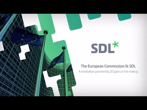 The European Commission & SDL - a translation partnership 20 years in the making