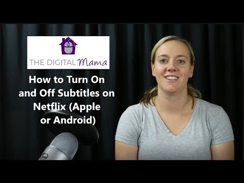 How to Turn On and Off Subtitles on Netflix (Apple or Android)