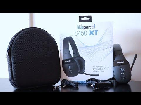 Unboxing & Pairing Blue Parrott S450 XT Hands Free Headphones