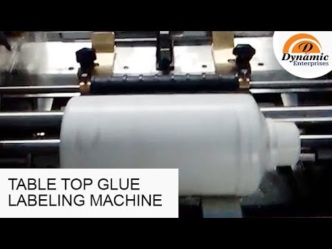 Table Top Glue Labeling Machine