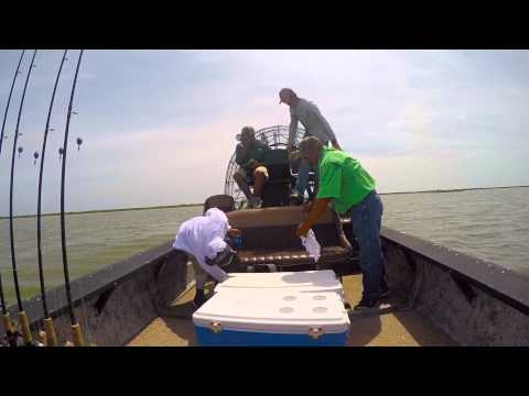 Rockport Airboat Fishing Trip