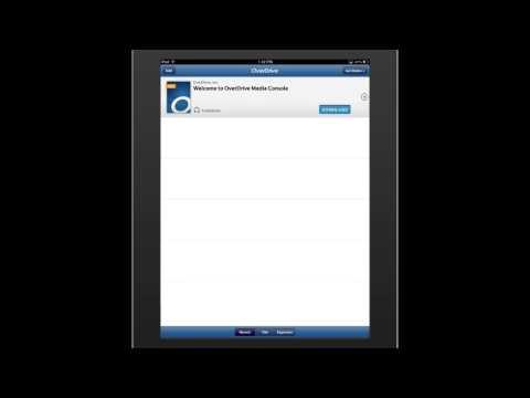 OverDrive App for Mobile Loveland Library eBooks