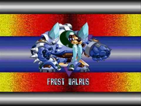 Megaman X Mavericks Final #13 - Frost Walrus