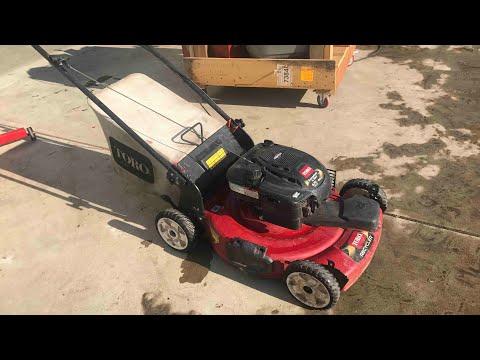 Fixing A Toro Mower That Wont Start