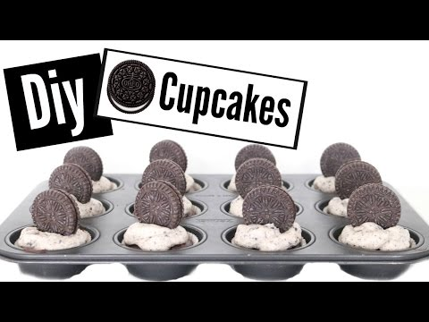 ♡Diy Easy And Delicious Oreo Cupcakes♡