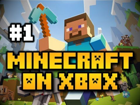 Minecraft on Xbox - Ep. 1 - Let's Dive In! [Tutorial] (Xbox 360)