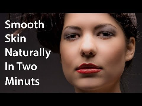 Photoshop Tutorial | How To Smooth Skin Naturally In Adobe Photoshop