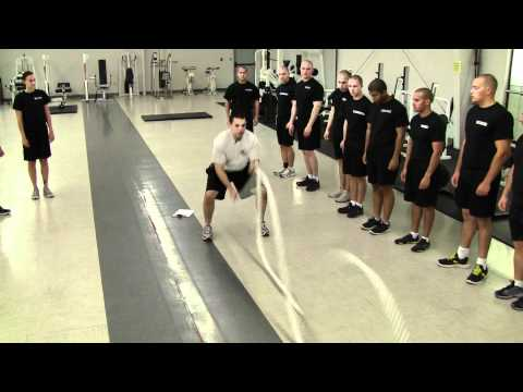 Albuquerque Police Department Academy Strength Training Week 4 Day 3