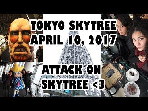 TOKYO SKYTREE 2017 (ATTACK ON SKYTREE)