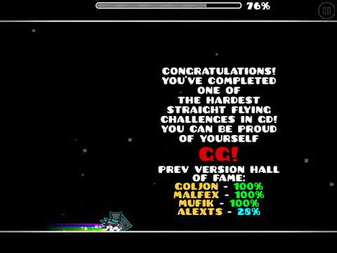 SF Extreme Plus 100% on Mobile (Tightest Possible Straight Fly)