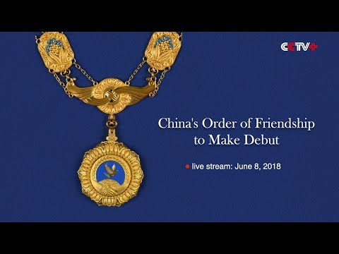 LIVE:Chinese President Xi presents friendship medal to Russian President Putin