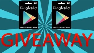 $20 Google play gift card giveaway! (Ended)