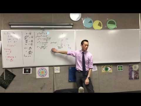 Conical Pendulum Example (1 of 2: Finding radius of circular motion)