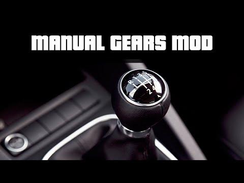 MANUAL CAR TRANSMISSION | GTA 5 PC Mods