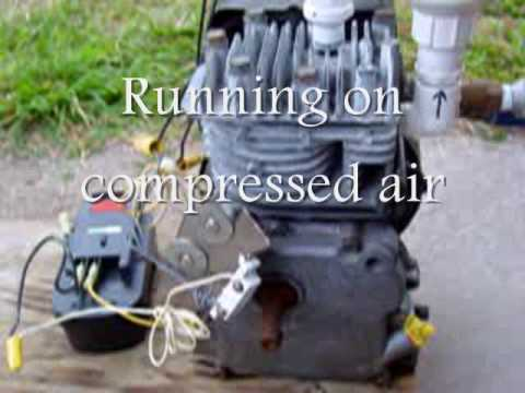 Motor Runs on Compressed Air