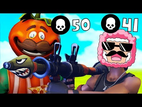 WHO CAN GET THE MOST KILLS? | Fortnite: Battle Royale w/ ExpldoingTNT
