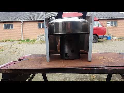Tin can alcohol stove for fun 05-09-2017