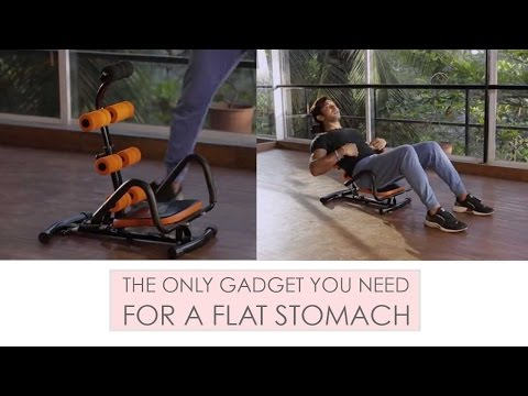 The Only Gadget You Need For A Flat Stomach | Fitness With Terence Lewis