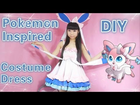 Cosplay DIY - Pokemon Sylveon Inspired Costume/Dress ( Easy)