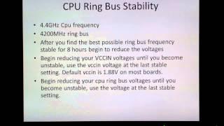 Intel Haswell Overclocking Guide Part 2  G3258 4670k 4690k 4770K 4790K