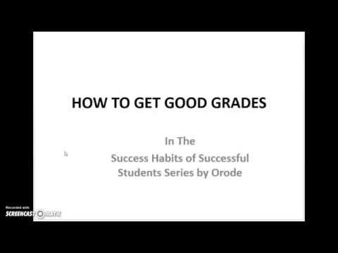 How To Get Good Grades - UK first-class graduate
