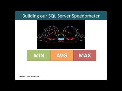 SQL Server Benchmarking  The Powershell Speedometer