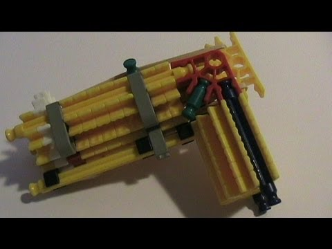 Knex PX3 Powerful Pocket Pistol with Instructions