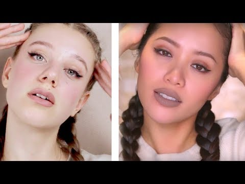 I Tried Following A Michelle Phan Makeup Tutorial!! This is what happened...
