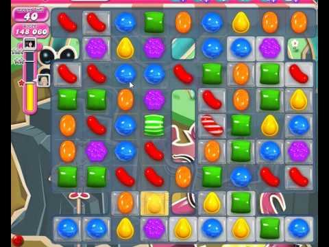 Candy Crush Saga Level 35 Basic strategy