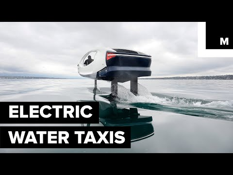 These Emission-free Water Taxis Want to Change How People Move Around in Cities With Waterways