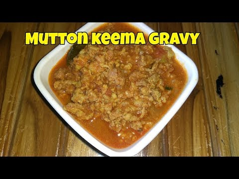 Mutton keema gravy | christmas special