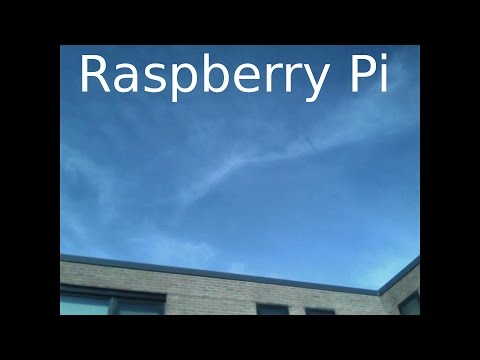 Raspberry Pi Clouds Time Lapse Project