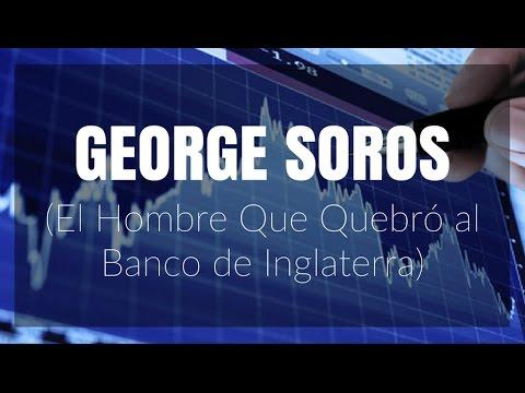 Historias de Trading | George Soros, El Hombre Que Quebró Al Banco de Inglaterra