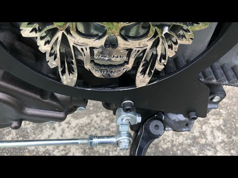 Indian Scout - Dean Speed Belt Guard Install