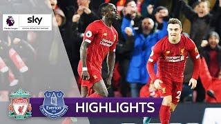Furioses Derby mit überragendem Mané | FC Liverpool - FC Everton 5:2 | Highlights - Premier League