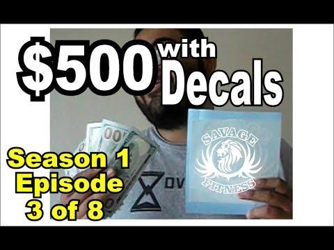 Custom Shirts/Decals: Side Money: Episode 3 season 1