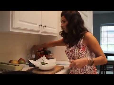 dina's cucina | shishito peppers + heirloom tomato frittata