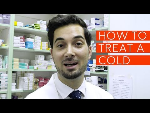 How To Treat A Cold | How To Cure Common Cold | Best Medicine For A Cold And Fever And Sore Throat