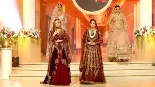 Best pakistan  bridal dresses show 2018