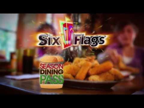 Six Flags Magic Mountain Season Dining Passes