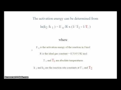 Given activation energy, reaction rate constants at two temperatures, find one of the temperatures