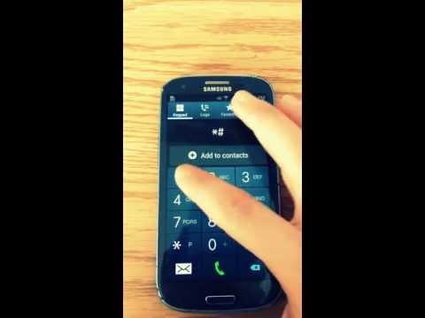 HOW TO UNLOCK SAMSUNG GALAXY S3 FOR FREE!