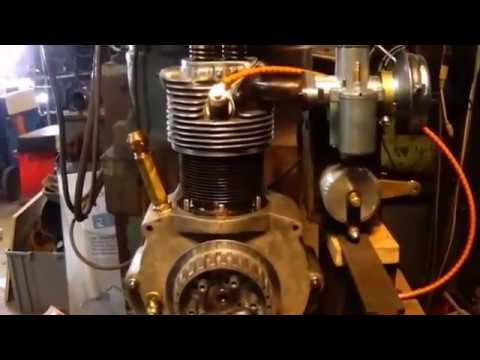 Motorcycle Engine Build From Scratch In 3-1/2 Minutes