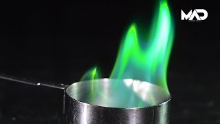 How to make GREEN FIRE