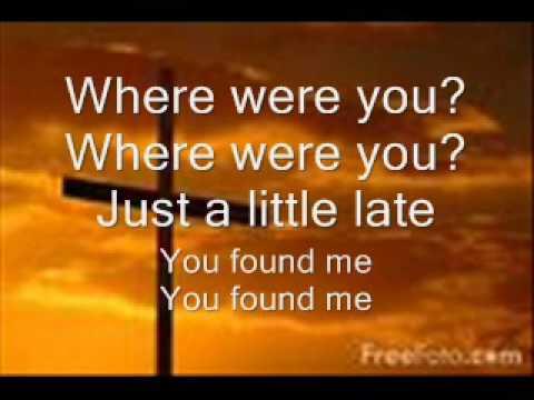 You Found Me The Fray Lyrics