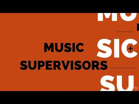 Music Licensing: How to Get Your 1st Placements in TV & Film : Music Supervisors