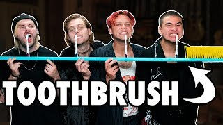 6 Person Toothbrush Challenge Ft. 5 Seconds Of Summer