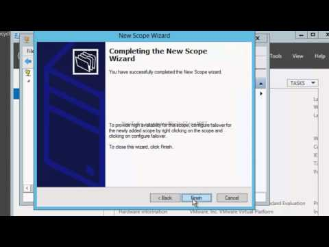 Windows Server 2012 How to install a Domain Controller and DHCP