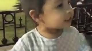 Cutest video of Ziva asking for a hug from mahi