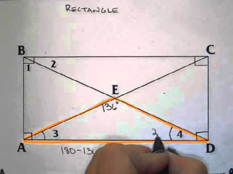 Finding Angles in a Rectangle